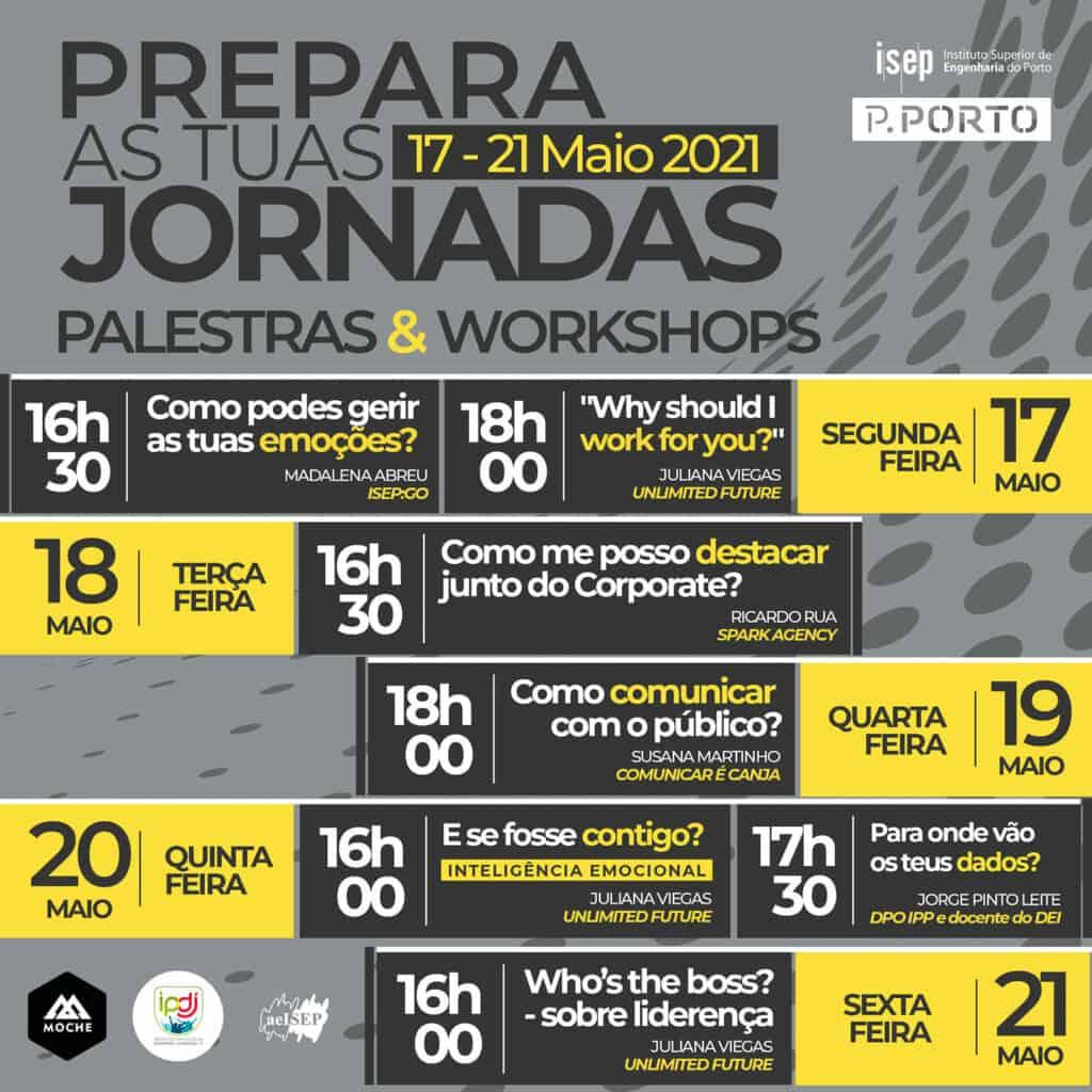 VI Jornadas de Emprego Engenharia ISEP 2021 | 8-9 junho | Porto | Talent Portugal
